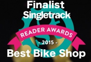 BEST BIKE SHOP 2015 FINALIST
